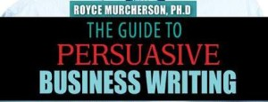Guide to Persuasive Business Writing- portfolio image